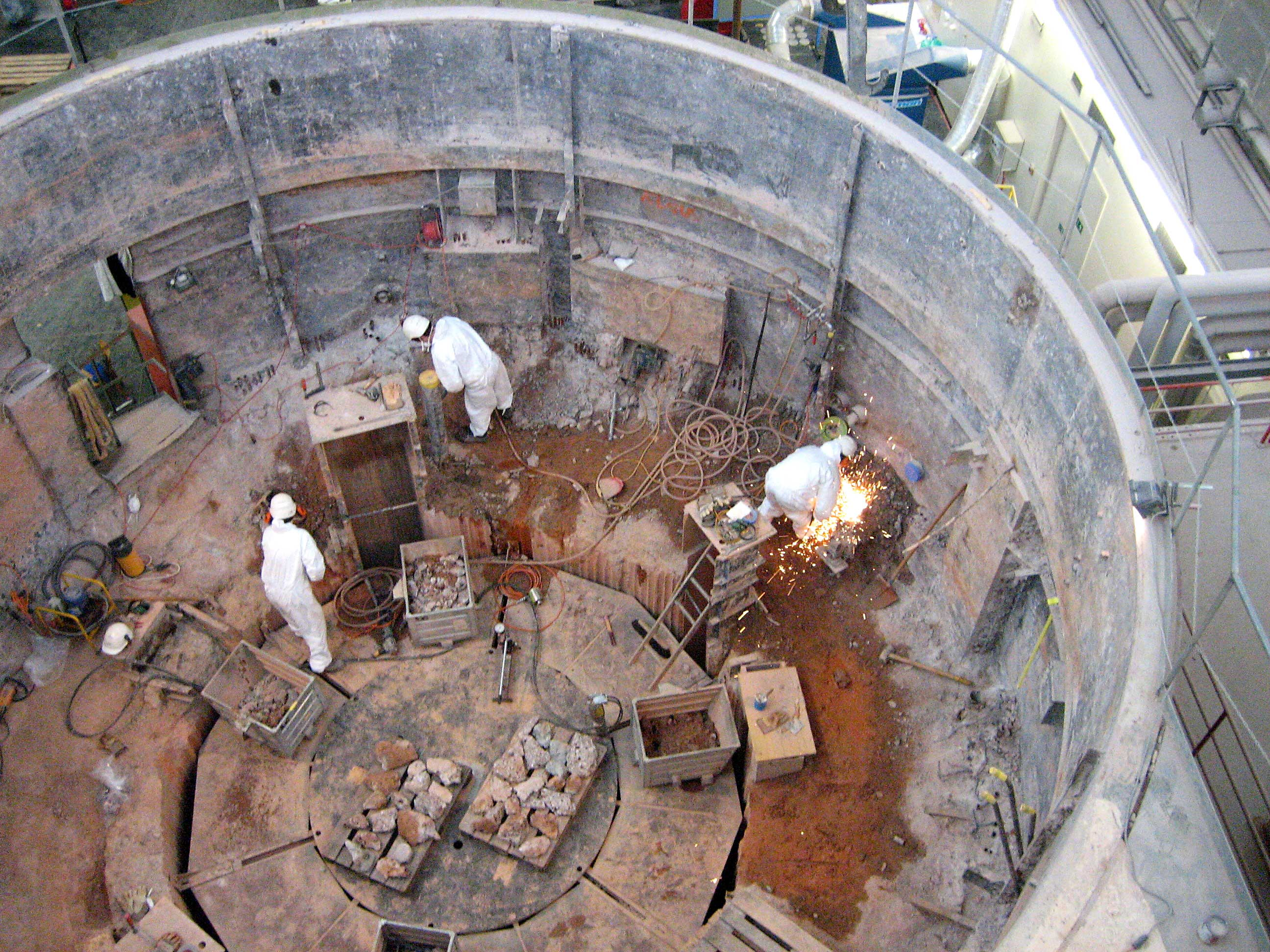 Taking Nuclear Power Plants Out Of Service Ensi